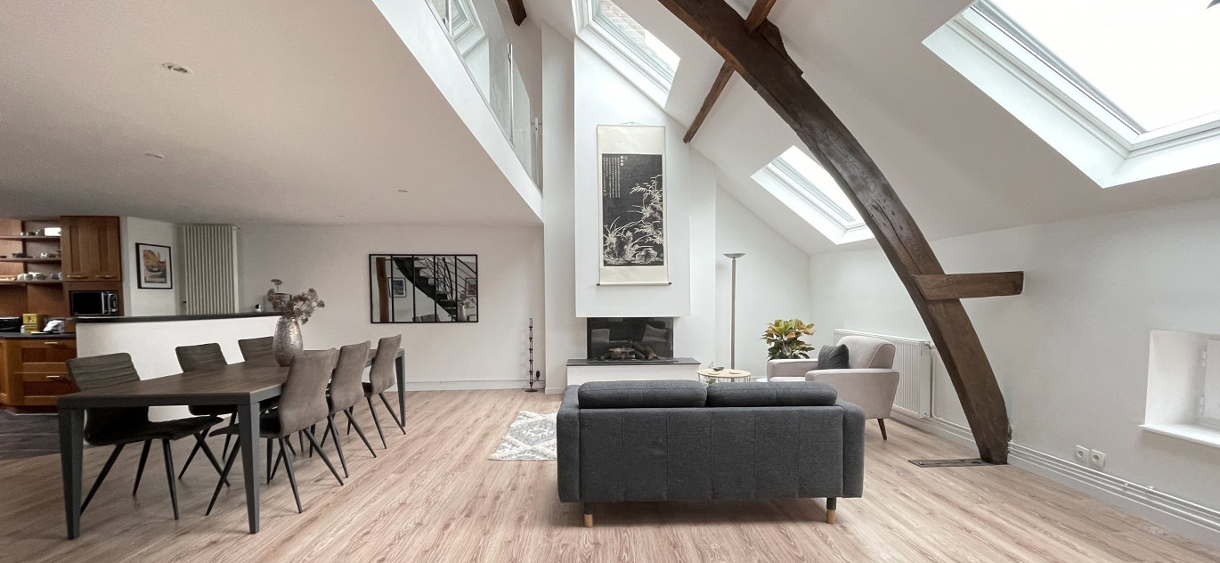Lille - France - Apartment, 8 rooms, 4 bedrooms - Slideshow Picture 2
