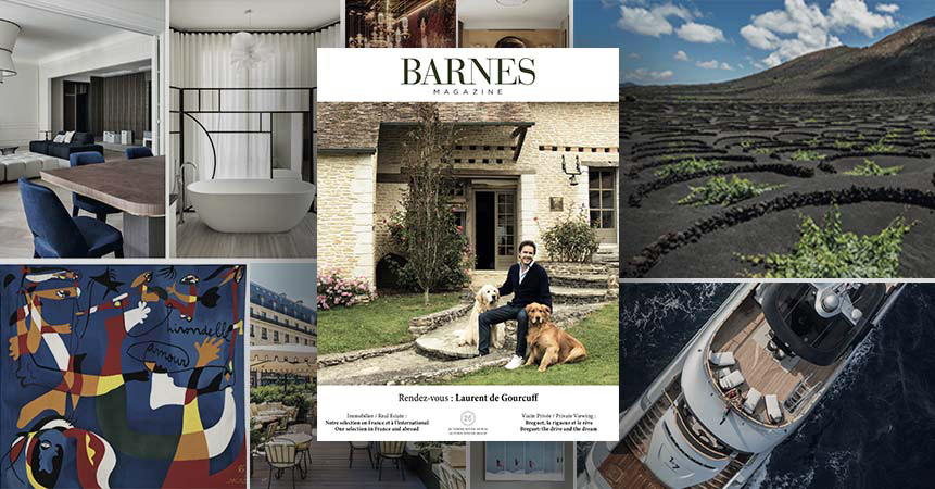 Autumn/winter 2019 edition of the BARNES magazine promoting the French Touch!